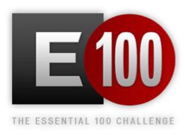 E100 logo